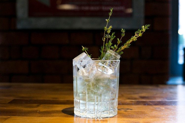 Ginseng & Thyme Cocktail 6