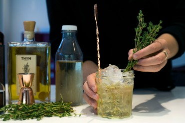 Ginseng & Thyme Cocktail 8
