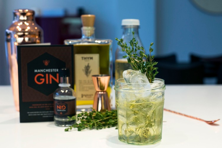 Ginseng & Thyme Cocktail 9